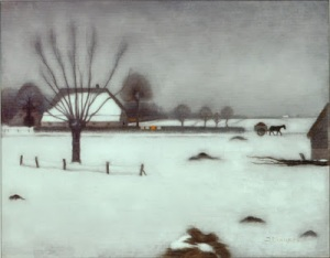 Jan Mankes 1917 Winter in Erbeek